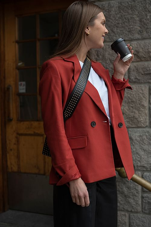 Anine Bing Becky Blazer Rust dressjakke