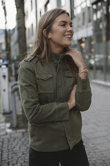 Army Jacket Green