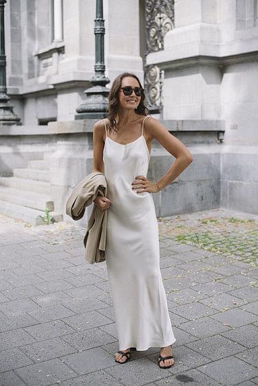 Chloe Dress Ivory