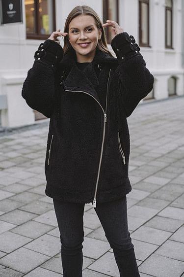 Fran Coat Black