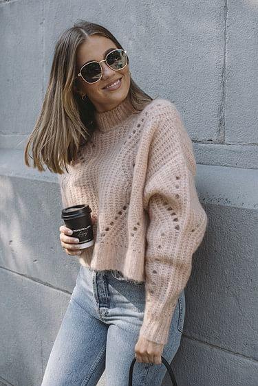 Jordan Sweater Peach