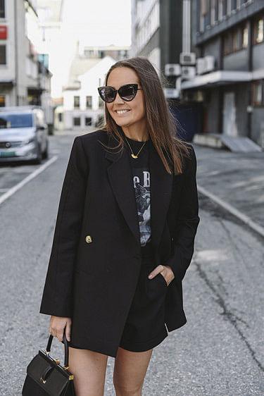 Kaia Blazer Black