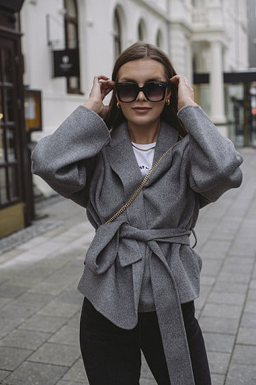 Luna Jacket Heather Grey