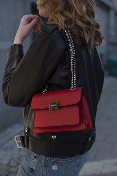 Mini Felix Bag Red