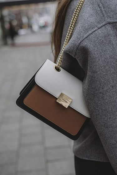 Mini Felix Bag Camel Color Block