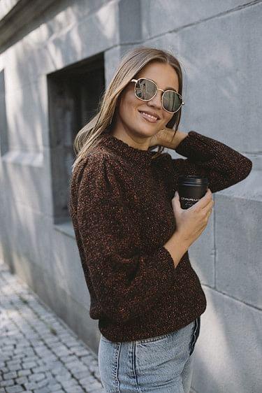 Rosalind Sweater Brown