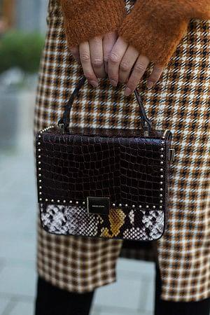 Thea Bag Croc Python Print