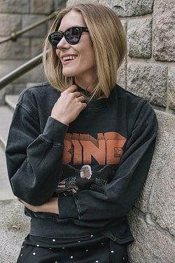Vintage Bing Sweatshirt Black