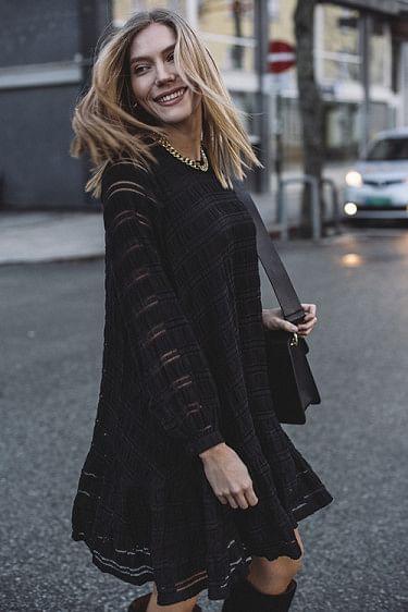 Viola Dress Black