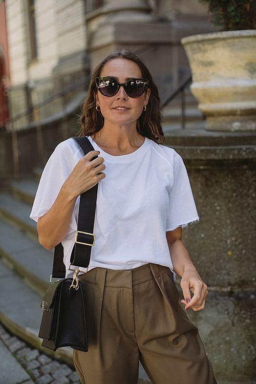 American Vintage Capiday T-shirt Blanc t-skjorte