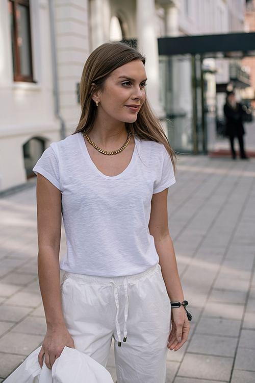American Vintage Jacksonville T-Shirt White t-skjorte
