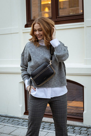 Zazow Sweater Heather Grey