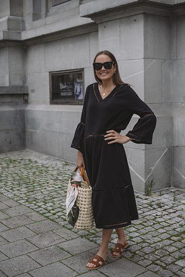Ludivine Dress Black