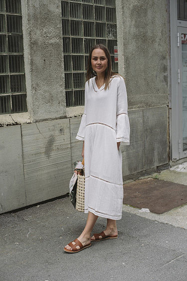 Ludivine Dress Offwhite