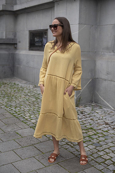 Ludivine Dress Yellow
