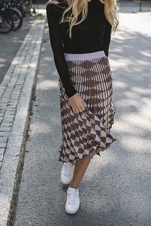 Cyrilla Skirt Purple Cobber Lurex