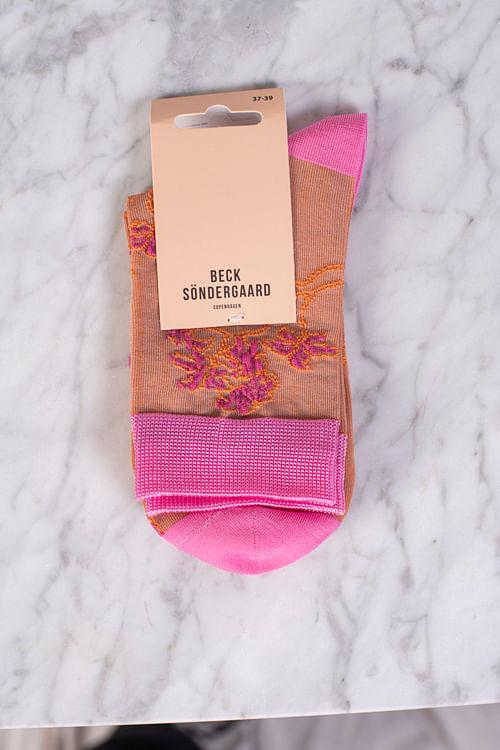 Becksöndergaard Pop Sora Sock Silver Gray sokker
