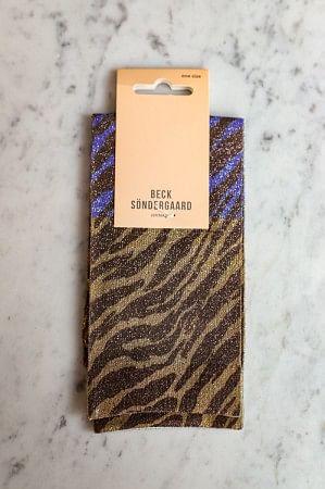 Dagmar Zebra Socks Bownish