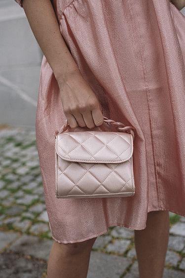 Satin Bubba Bag Tropical Pink