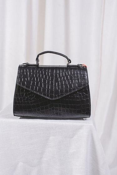 Croc Petit Malory Bag Black