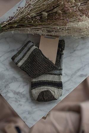 Daphne Block Sock Black