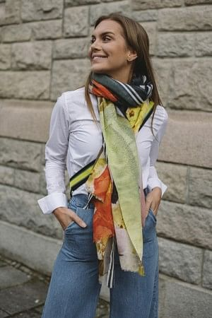 Wade Scarf Multi Color