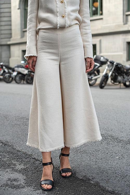 Cellino Trousers Soft White