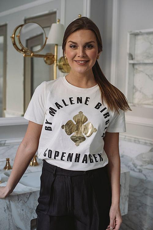 By Malene Birger Desmos T-Shirt Gold t-skjorte