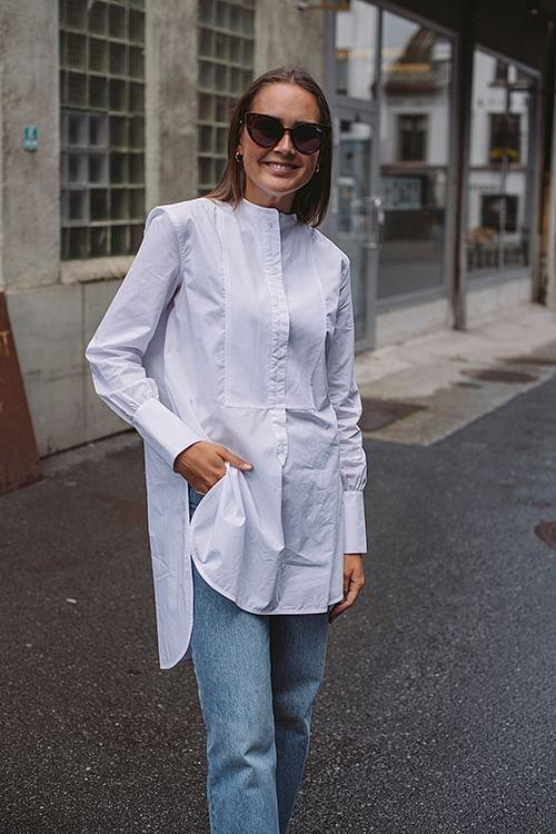 Shaun Shirt Pure White