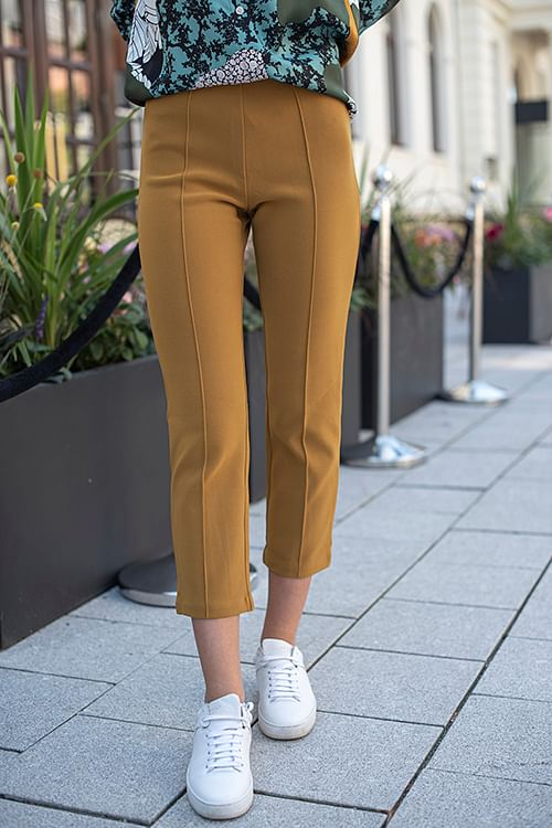 By Malene Birger Viggie Trousers Tobacco bukse