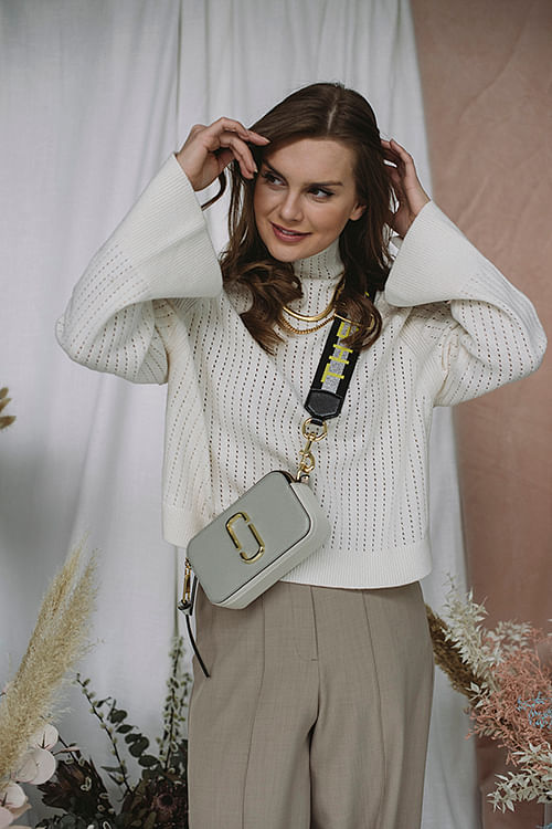 By Malene Birger Vikki Sweater Off White genser