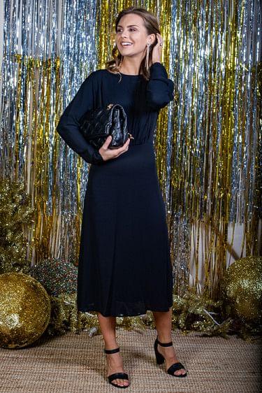 Azolla Dress Black