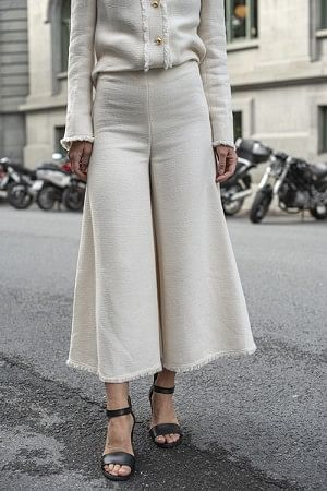 Cellino Trousers Soft White