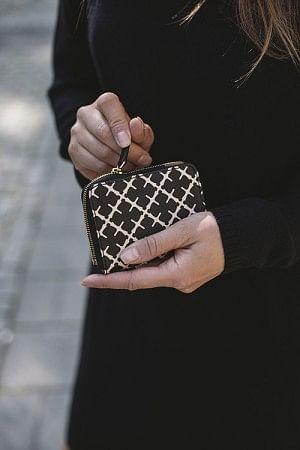 Elia Coin Wallet Black