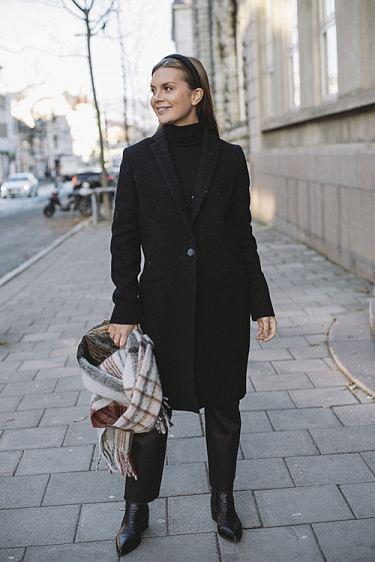 Ellinor Coat Black