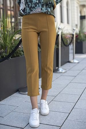 Viggie Trousers Tobacco