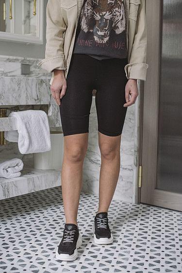 Lingerie Bike Shorts Black