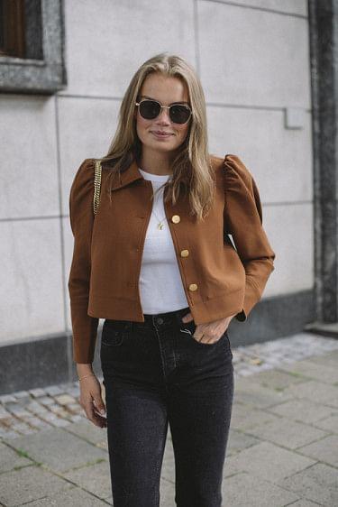 Tailored Jacket Rust
