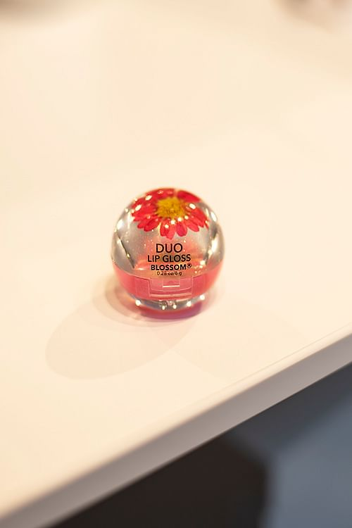 Blossom Duo Lipgloss Red