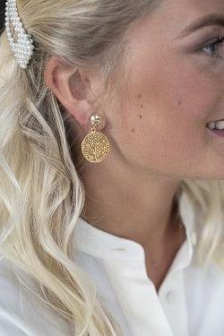 Chloe Earrings Golden Shadow