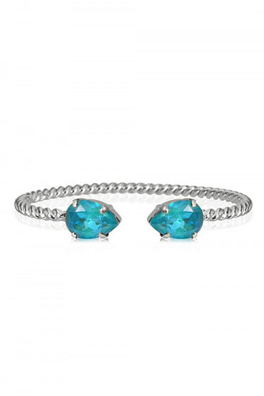Mini Drop Bracelet Rhodium Laguna Delite
