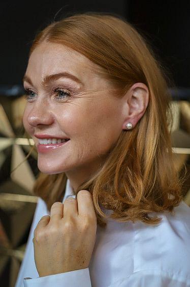 Classic Stud Pearl Earring Gold