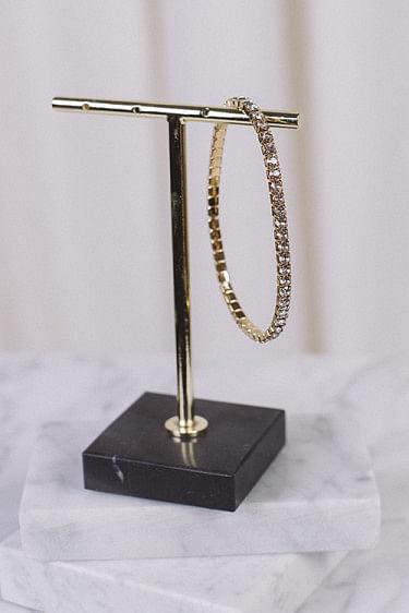 Eya Bracelet Gold Crystal