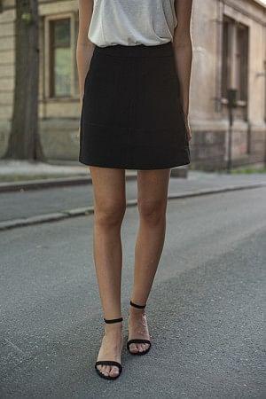 Short Flare Skirt