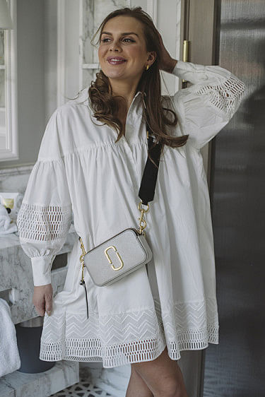 Mesima Shirtdress White