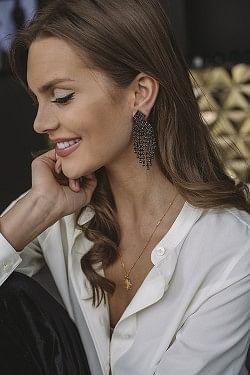 Priscilla Earrings Silver