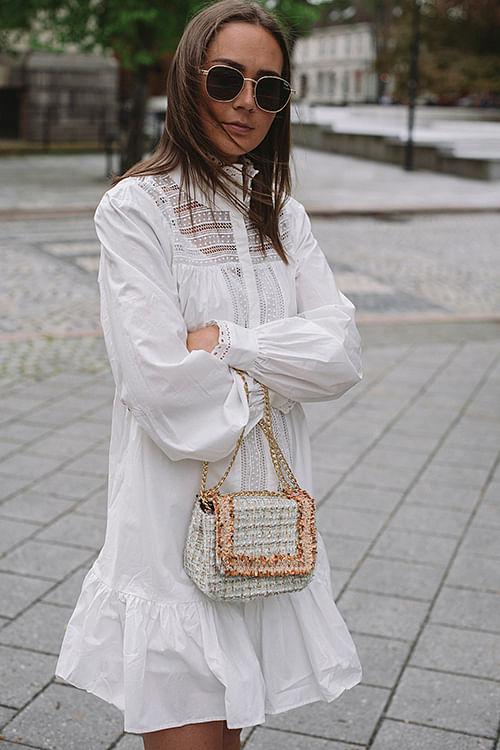 Elorie Dress Whisper White