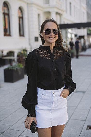 Ellena Shirt Black
