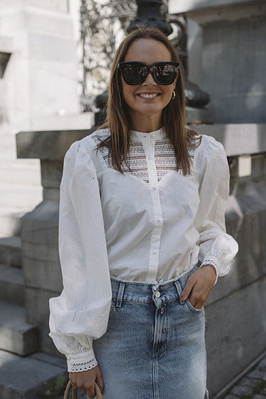 Ellena Shirt Whisper White