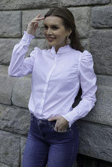 Hania Shirt White